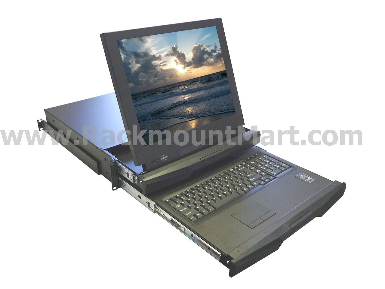 Lcd2u19 03 Ip 2u Dual Slides Sun Solaris Compatible
